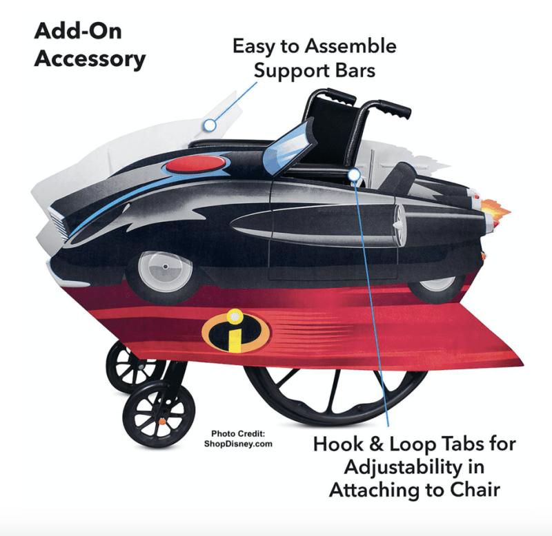 Wheelchair adaptive halloween
