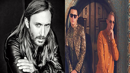 David Guetta feels the heat from DJ Snake and Diplo.