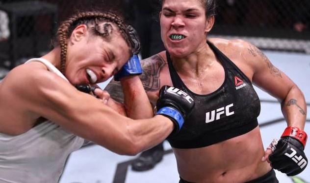 Nunes punching Felicia Spencer