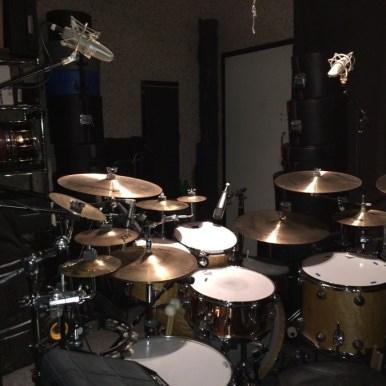 10x16 (160 sq. ft.) drum/production studio