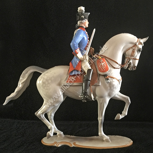 #97 Dragoon Officer, painted - View from left