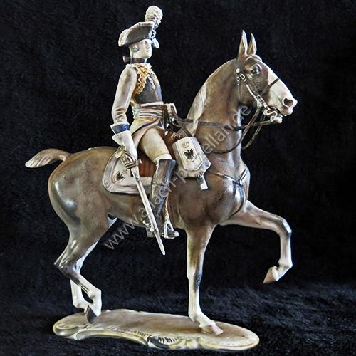 17 Seydliß-Kürassier-Offizier, farbig - Ansicht links