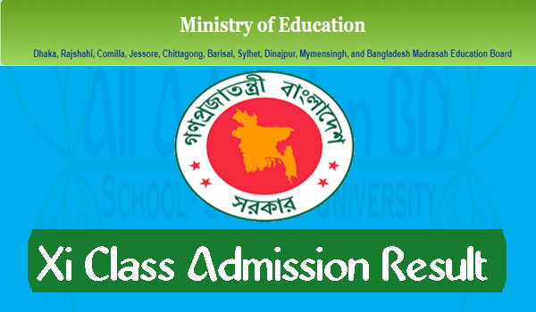 Xi Class Admission Result