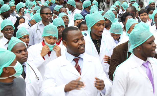 Image result for Kenya doctor strike picture