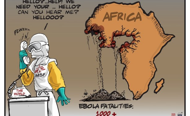 Africa, calling for help-Ebola-ozara gossip