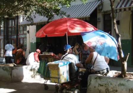 vendeur de rue La Havane