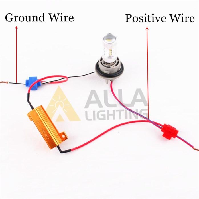 50W 6ohm load resistor fix LED turn signal light hyper flash