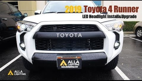 Toyota 4Runner LED Low Beam Headlights Bulbs Install Change
