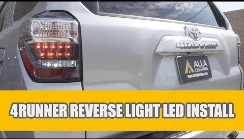 Toyota 4Runner LED Reverse Light Bulbs Installation Guide