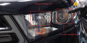 2015 2016 2017 2018 Ford Edge LED Headlights Low Beam Bulb Install