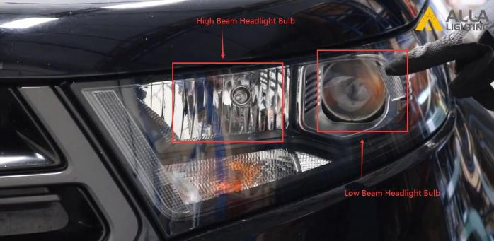 2015 2016 2017 2018 Ford Edge LED Headlights Low Beam Bulb Install