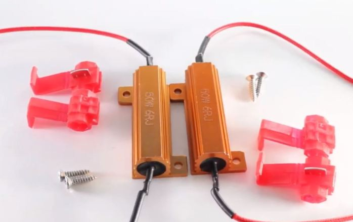 Universal Load Resistor 50W 6OHM Power for LED Bulbs to solve fast flashing and error code
