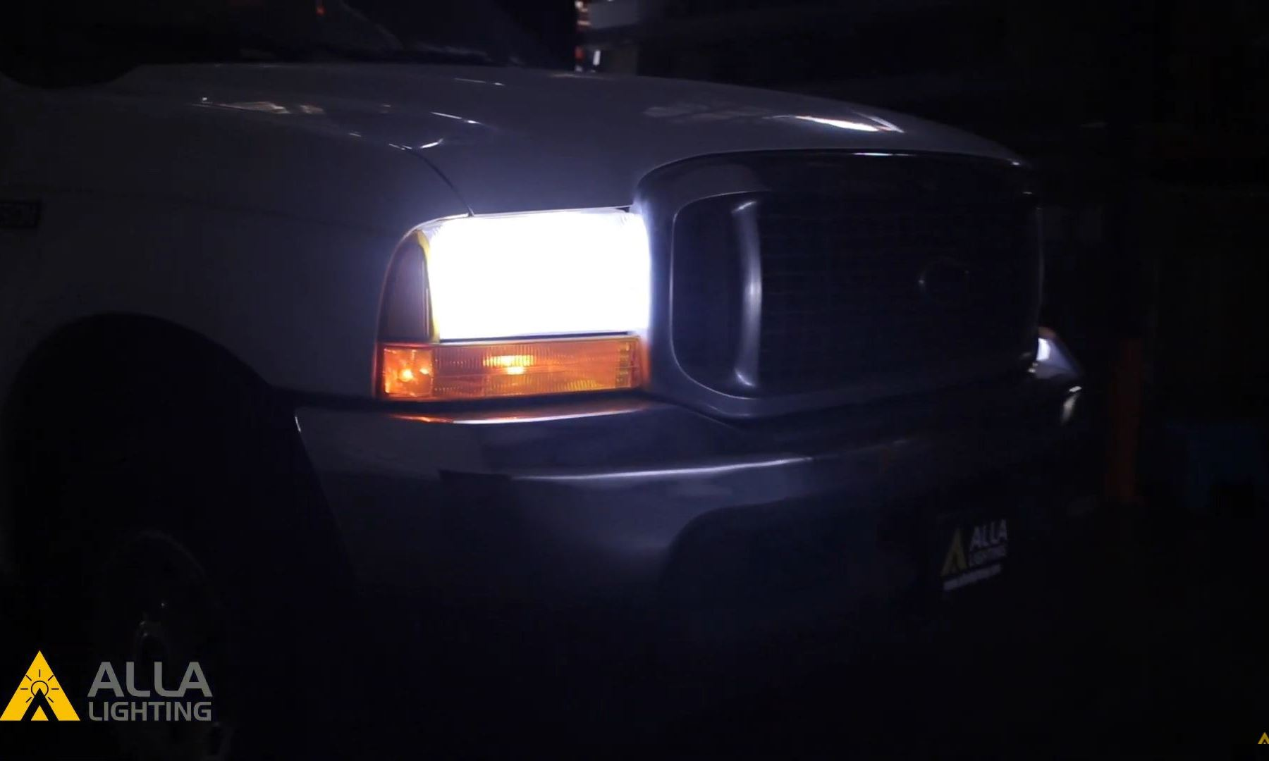 2000 - 2004 Ford Excursion Best LED headlight upgrade & installation 2