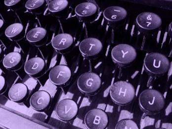 purple-typewriter