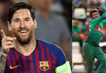 Lionel Messi and Sakib