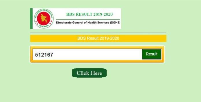 Medical MBBS DGHS Admission Result