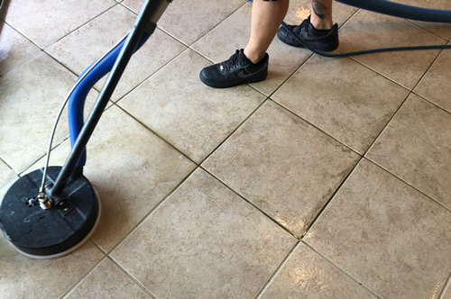 tile and grout color seal at home in