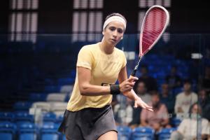 Nouran Gohar in action