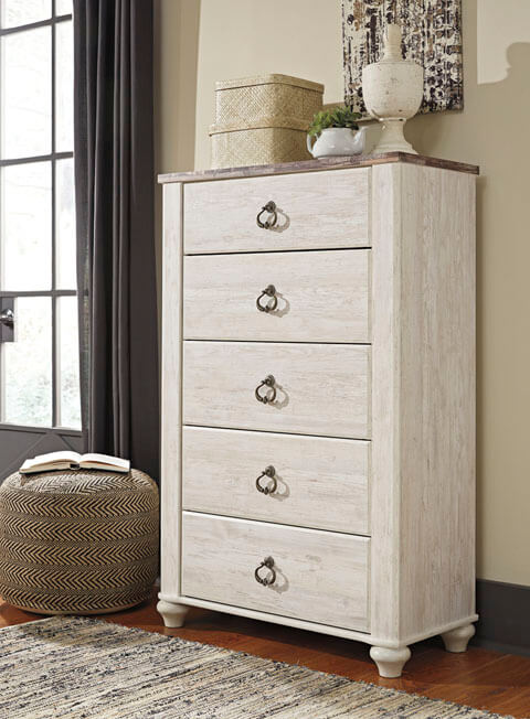 Willowton Panel Bedroom Collection All American