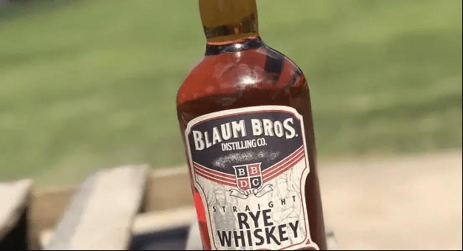 rye whiskeys under $50 Blaum Bros Straight Rye Whiskey