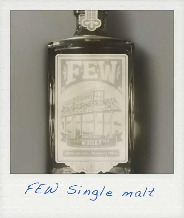 smoothest single malt whiskey FEW
