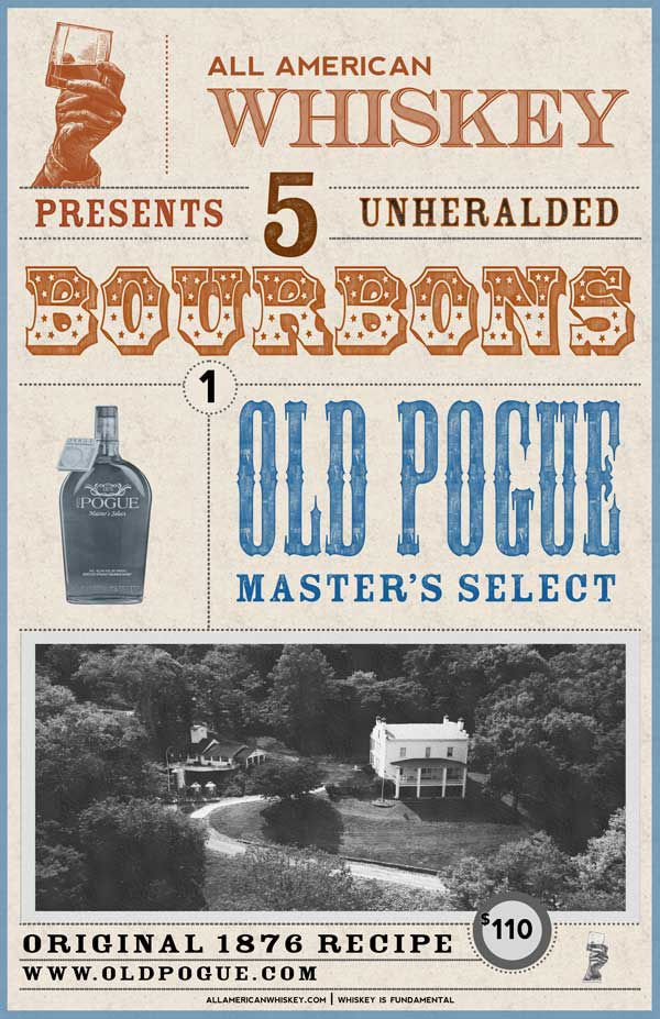 coors bourbon old pogue