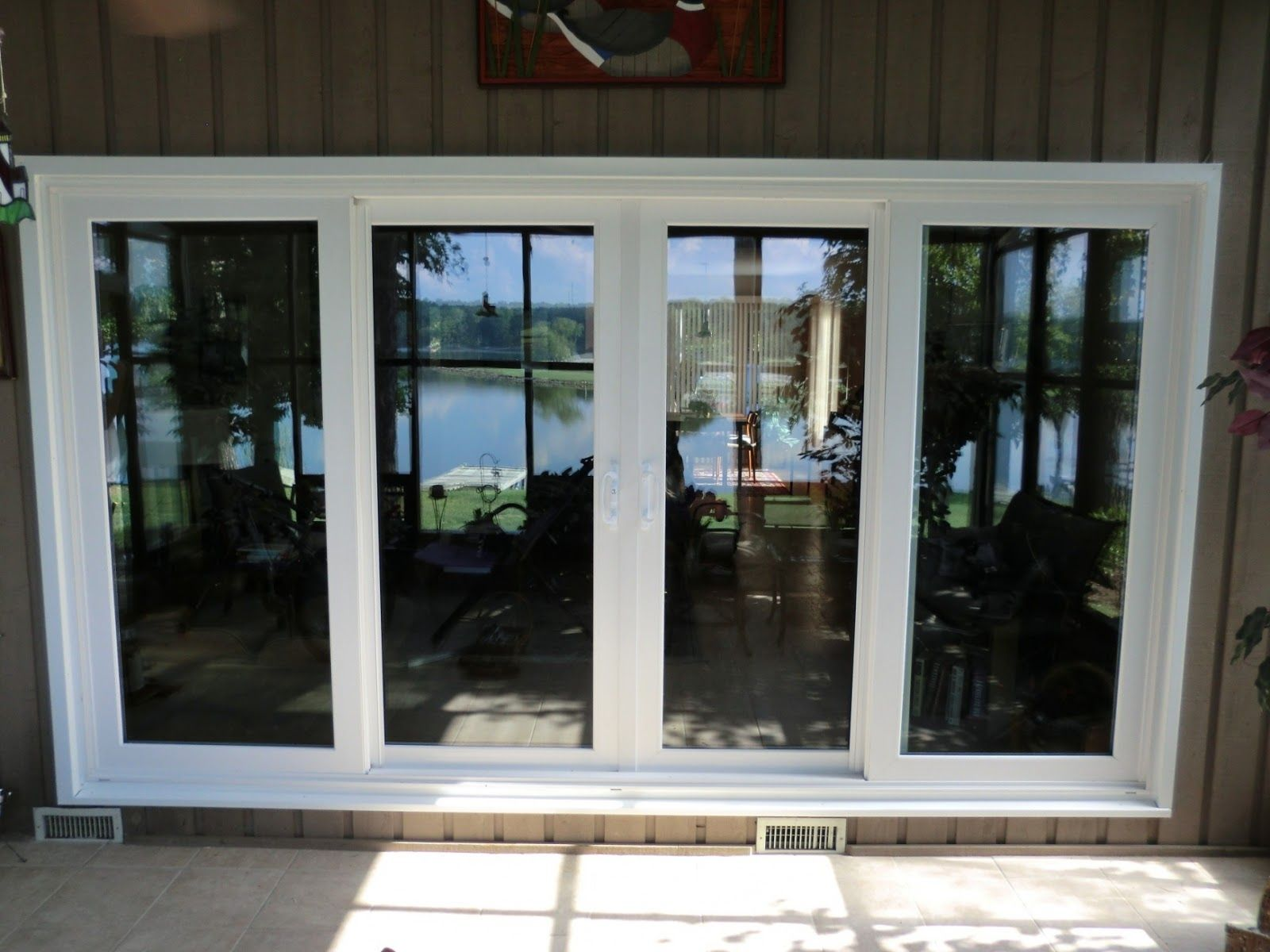 4 panel patio doors all american