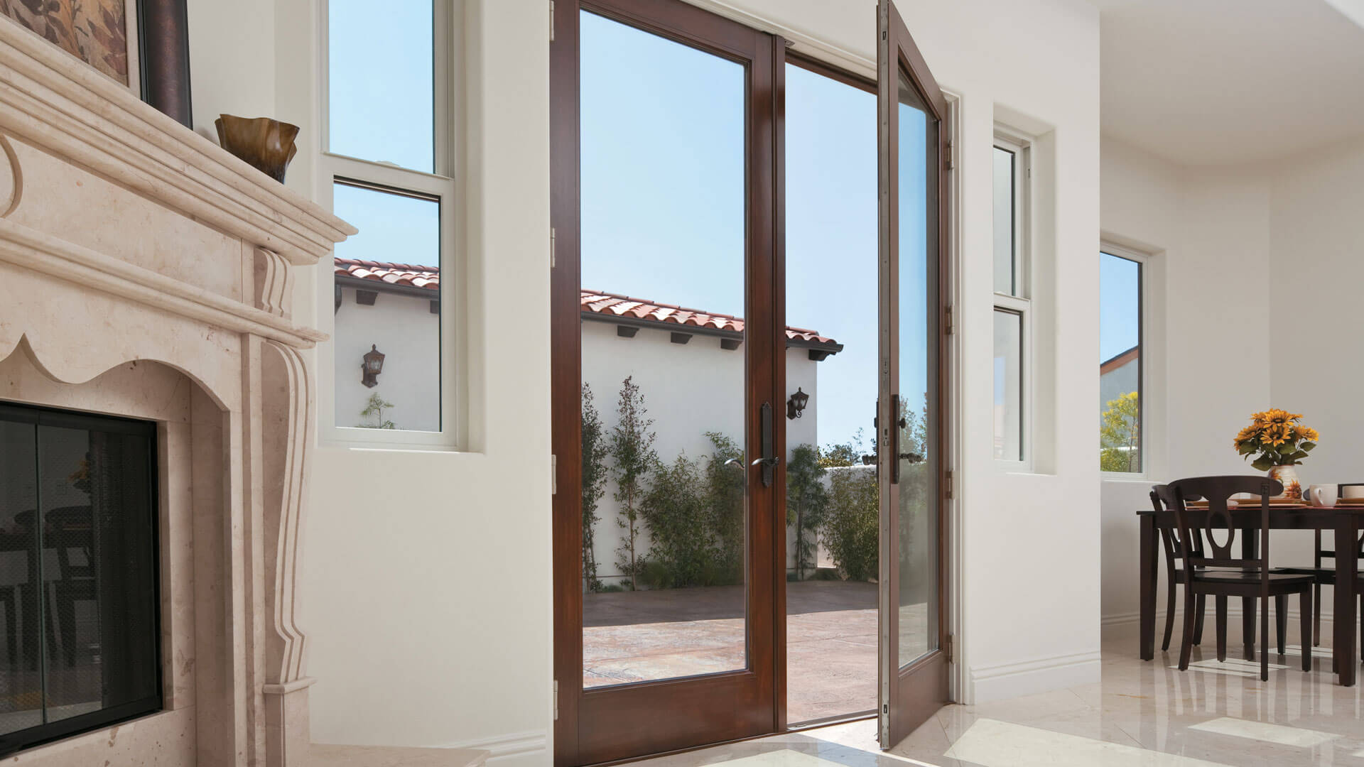 hinged french patio doors all