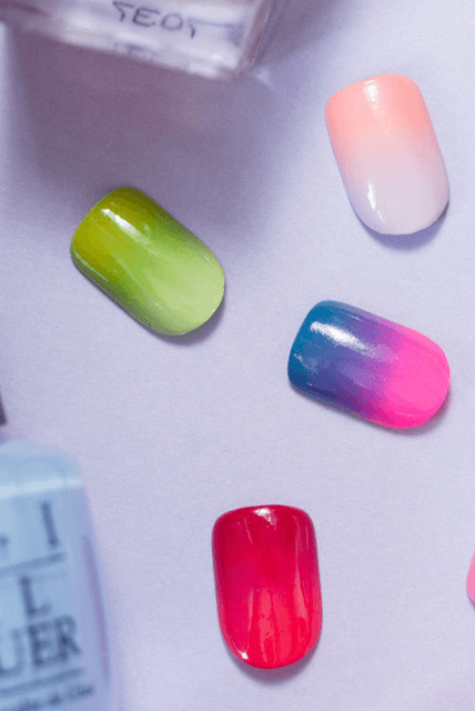 Gradient Nails | allandaboutqa