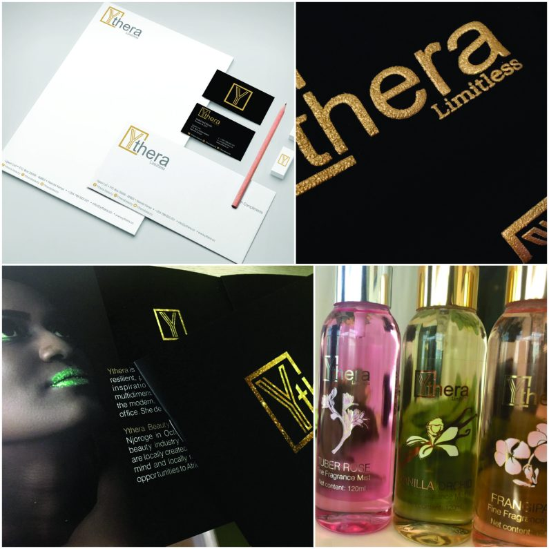 Branding - YTHERA - Identity design, Tag line creation, collateral design, packaging design,website design, brand manual, photo editing