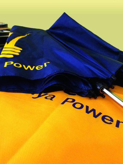 Screen print - Kenya Power Eco bags & Umbrellas
