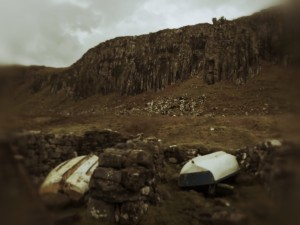 Isle Of Skye - stranded boats