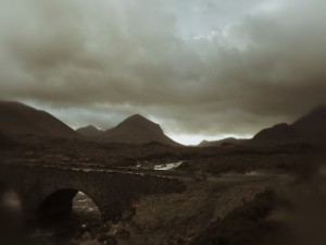 Isle Of Skye - the cuillin mountains