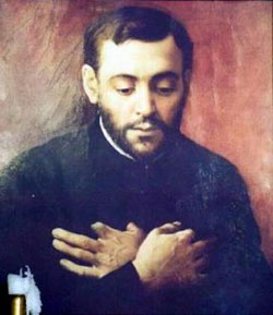 St. Isaac Jogues Born in France, lived and died in Canada, and now lives eternally in Heaven.