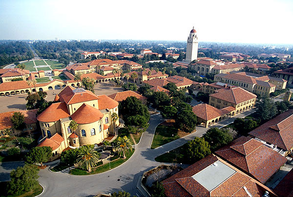 STANFORD AERIAL VIEW