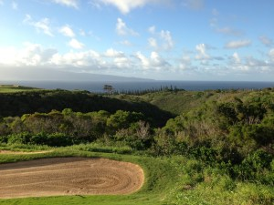 KAPALUA PLANTATION GOLF COURSE VIEW OF THE PACIFIC