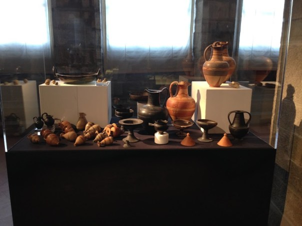 ETRUSCAN POTTERY AT THE CORTONA MUSEUM