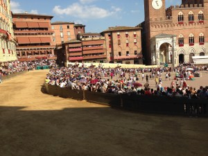 PALIO TRACK VIEW FROM OUR SEATS