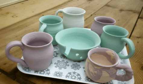 ceramics bisqueware
