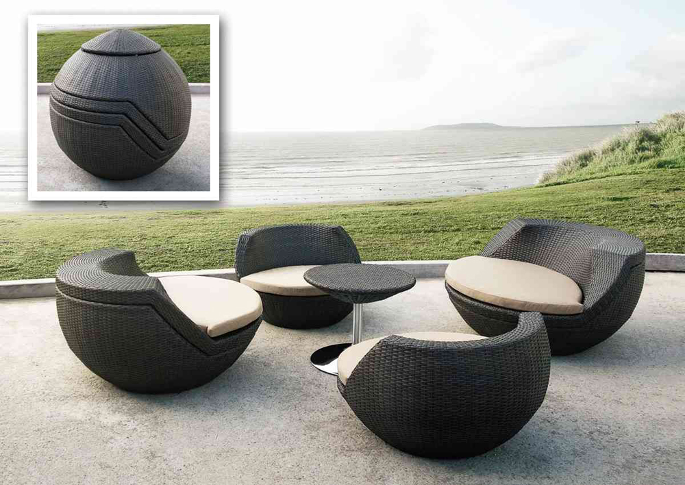 modern outdoor furniture for beautiful