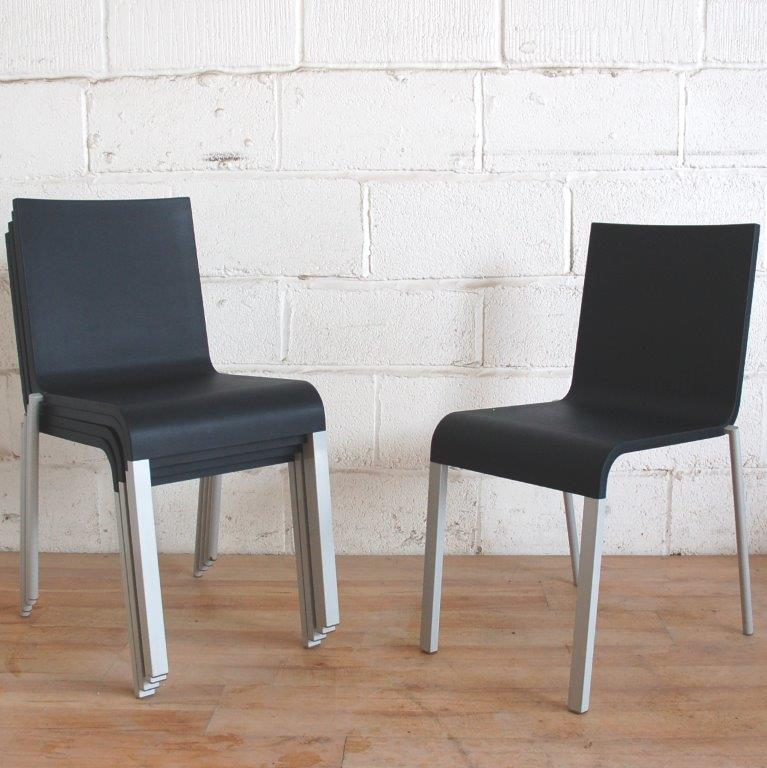 VITRA 03 Stacking Side Chairs PAIR used office furniture – Vitra 03 Chair