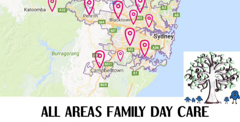 AAFDC Locations Sydney Metropolitan Districts