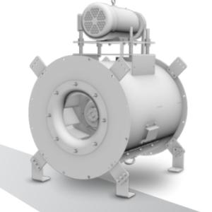 TCI - Tubular Centrifugal Inline Fan