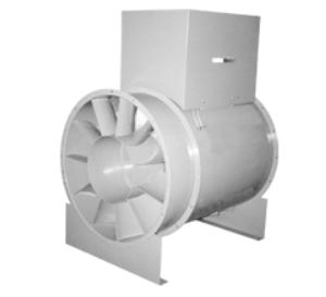 VXD_VXb Series Heavy Duty Vaneaxial Fan, Direct Drive or Belt Drive
