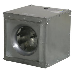 S&P SQD Direct Drive Square Inline Centrifugal Duct Fans