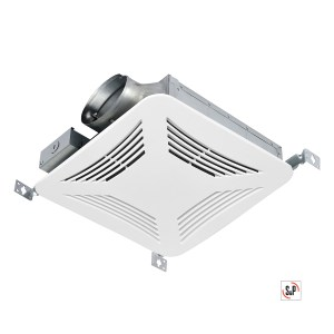 S&P PCLP Series Premium Choice LOW PROFILE Ceiling Mounted Bathroom Fans