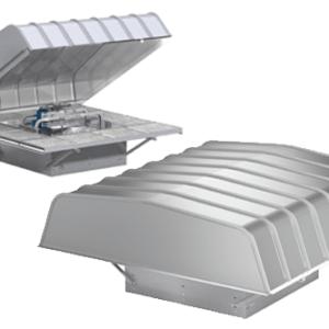 Hooded Roof Propeller Fans