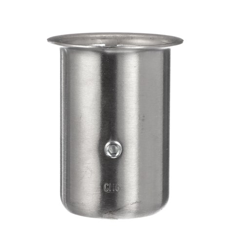 """1-5/8"""" x 3-1/4"""" H Stainless Steel Leg Socket With Flanged Top"""