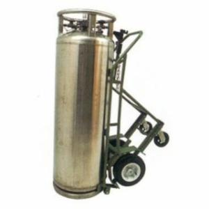"""339-LCT-12-6 Indurial Series rts, Holds 1 Cylinder, 12 in Pneumatic Wheels, 63"""" H"""