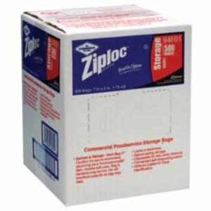 395-682256 Ziploc Commercial Reslable Bags, Quart, Plaic